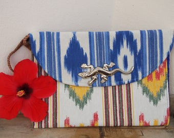 Heidi Hummingbird - Made in Mallorca - Gecko ethnic boho clutch bags