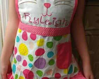 Kids Easter apron