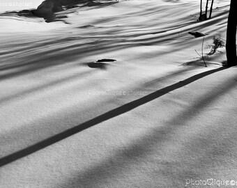 Winter Scene Snow Etsy