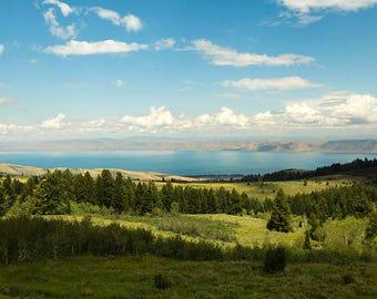 Bear Lake Summer View-  Landscape Utah Photography 10x20