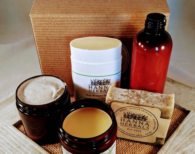 Featured listing image: 3 Month Subscription Box - monthly box - gardening box - summertime box - subscription box - herbal skincare box