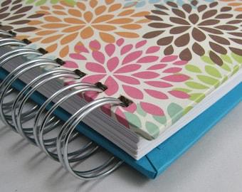 Recipe Book - Recipe Journal - Keepsake Recipes - Family Recipe Book - Bridal Shower Guestbook - Wedding Gift - Foodie - Cooking -  Mums