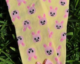 Bunny Leg Warmers- customize available