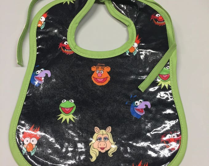 Wipeable Baby Bibs - The Muppets
