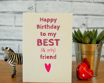 Funny best friend card, funny best friend birthday cards, best friend birthday, funny birthday cards, best friend birthday gift, bestie card