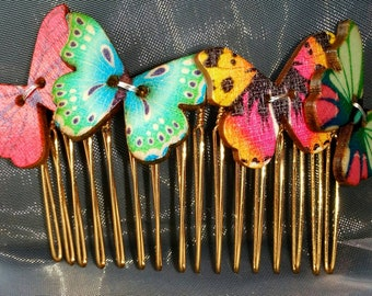 Tropical Butterfly Comb