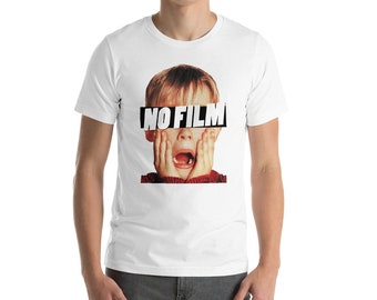 No Film for 35mm Analog Photographers Short-Sleeve Men T-Shirt