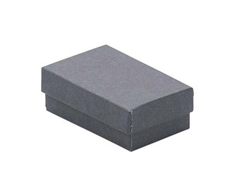 10 Pack Gray Jewelry Box, Gift Box, High Quality Jewelry Box, Jewelry Supplies, Shipping Supplies, Small Jewelry Box, Packaging,