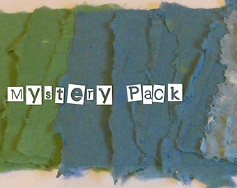 Colorful Mystery Paper Pack--Writing Papers for DIY Scrapbooking Note Cards Hand Made Paper Handmade Cards PM-#7HMP