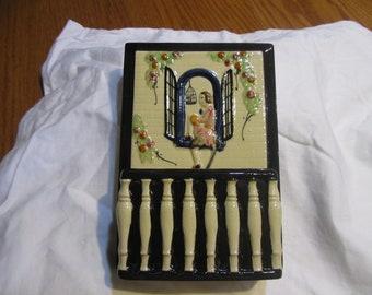 Vintage Wall Pocket Planter Made In Japen