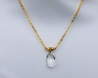 Swarovski Crystal Necklace. Made to order.