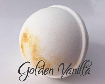 Bath Bombs White - Glitter - Bath Bomb - Vanilla Scented