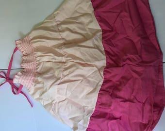 Girls healthtex fiesta sundress--fuschia and pale rose--size 7
