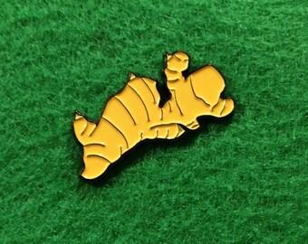 Ginger Enamel Pin