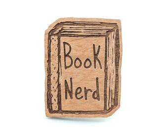 Book Nerd - Well Read Pin