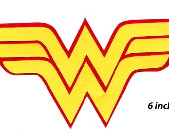 Wonder Woman Logo Scrapbook Die-cut