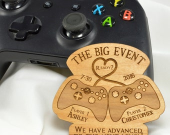 Gamer and Geek Save the Date Magnets