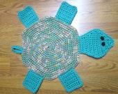 Items Similar To Turtle Bath Mat Crochet Tortoise Rug