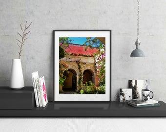 Mexico Art, Travel Photography, Travel Decor, Oaxaca, Mexico Photograph, Art for Travel Lovers, Photograph of Mexico, Oaxaca Mexico Art