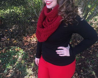 2-Way Cowl - Convertible Scarf - Caplet