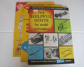 Model Railroader 764 Helpful Hints, Small Railroads You Can Build,  101 Track Plans