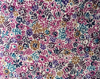 Tana lawn fabric from Liberty if London, Clarricoates.