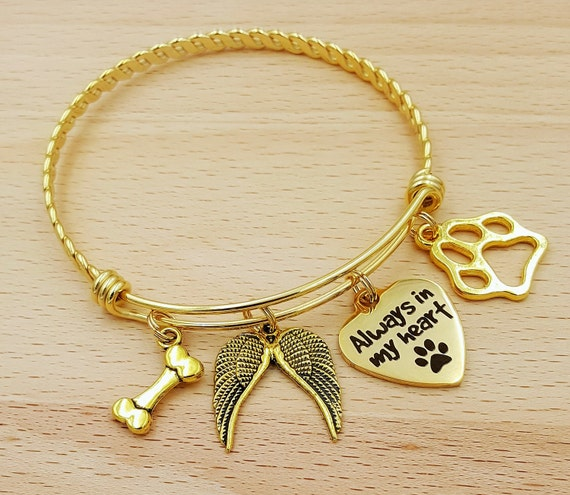 pet listing jewelry bracelet memorial il personalized