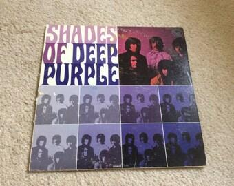 Deep Purple - Shades of Deep Purple - 1970 Vinyl Record LP