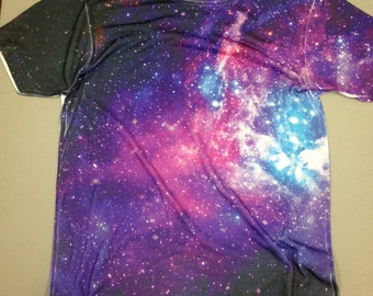 Youth Galaxy Shirt- All Over Shirt Printing_Design your own shirt or choose one of our designs