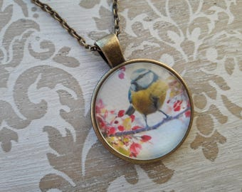 Bird Necklace. Bird Pendant Necklace. Bird Necklaces for Women. Nature Lover Gift. Nature Necklace. Friend Birthday Gift. Bird Lover Gift