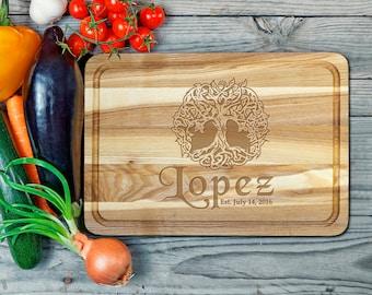 Cutting board,custom cutting board,wooden cutting board,engraved board,Oak cutting board,engraved board,Housewarming Gift,wood board,6052016