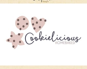 Premade Logo & Watermark // Baking logo // Baker logo // Food Logo // Blog // Food logo design  // Solipandi Design Studio//#050