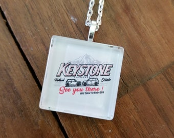 MTTS 'See You in Keystone' Pendant necklace