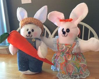Benny and Bonny Bunny