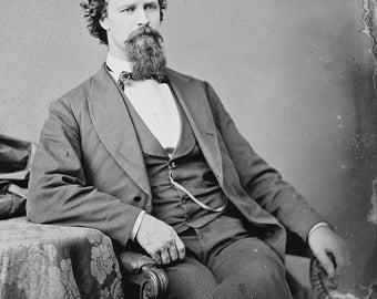 Charles M Hamilton Autographed Signed AUTOGRAPH American Civil War Hamilton Union Army private Company A Fifth Regiment Pennsylvania Reserve