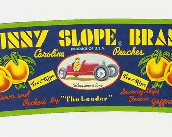 14 Old Vintage FRUIT CRATE LABELS