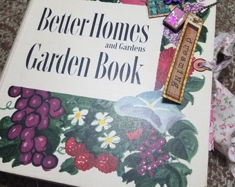 """5 Ring Binder Junk Journal, Better Homes and Gardens, """"Dreaming"""""""