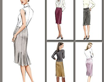 Vogue Pattern V7937 Misses'/Misses' Petite Skirt