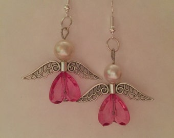 Angel Heart Earrings ~ asst colors ~