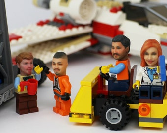 Become your own LEGO minifigure - 30% OFF when you buy 2 or more custom heads
