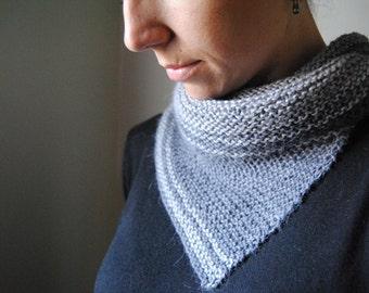 SERRATE Cowl Knitting Pattern PDF