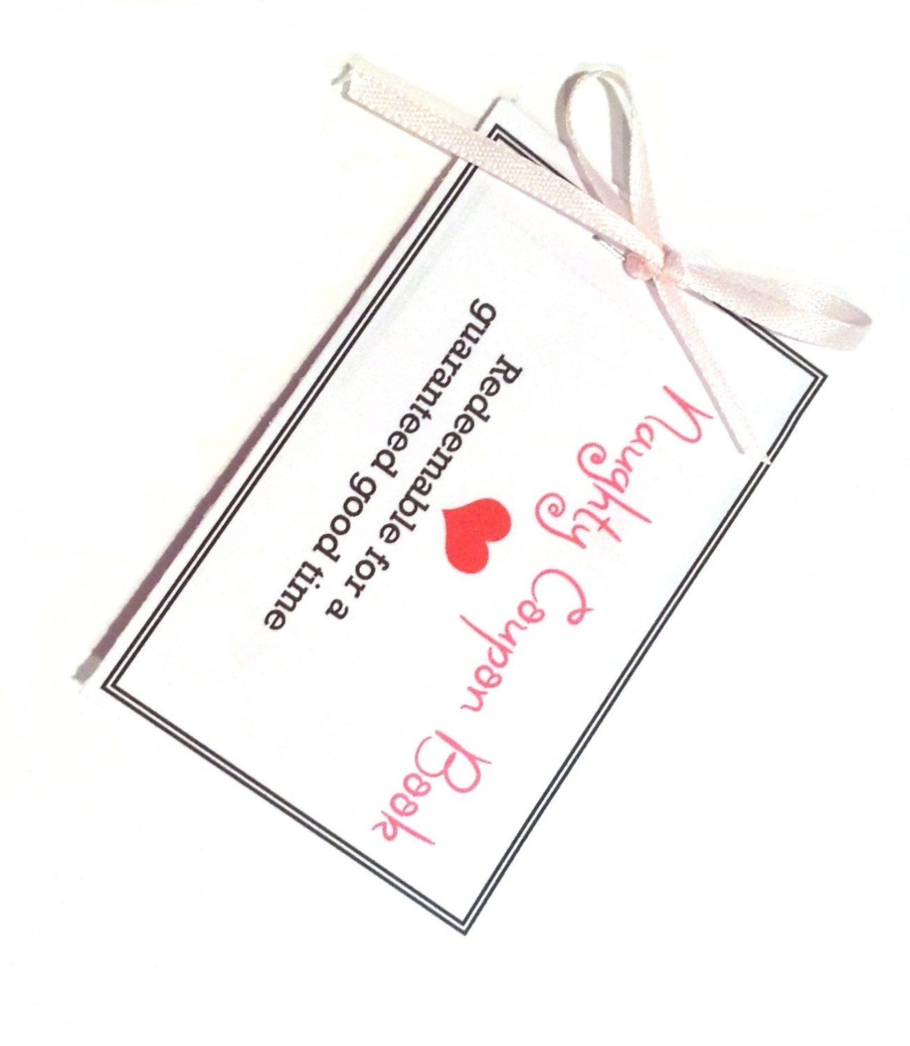 Coupon Book sexy gift for boyfriend husband