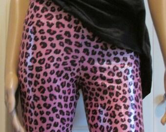 Pink Panther Shiny Spandex Leggings