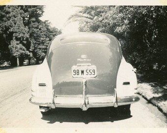 Vintage 1930's Classic Car LA California photo ~ B31 Los Angeles
