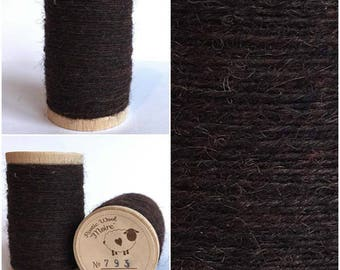 Rustic Moire Wool Thread #793 for Embroidery, Wool Applique and Punch Needle Embroidery