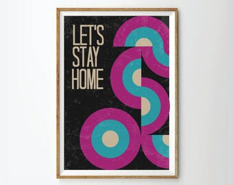 Inspirational quotes, quote prints, quote posters, home art, typography poster, home , positive quotes, home Art Print