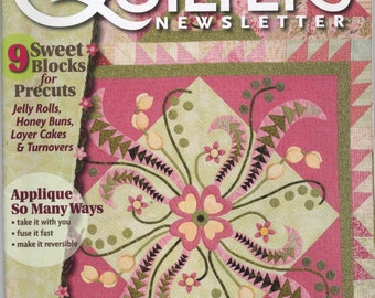 April/May 2009 Quilters Newsletter Magazine TIB12212