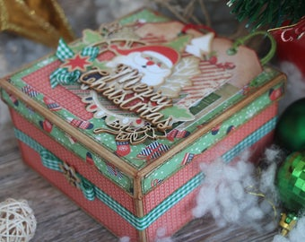 Gift boxes with lids Gift box candy Christmas gift box Surprise box Gift box ornament Handmade gift box Gift box holiday Gift boxes for mom