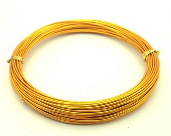 x10m aluminum diameter 1 mm, golden orange: FA0014