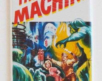 Time Machine Movie Poster Fridge Magnet (1.5 x 4.5 inches)